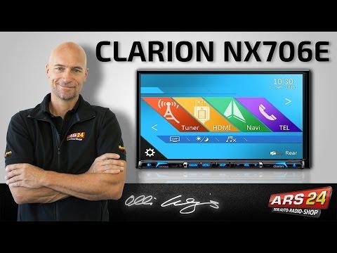 Clarion NX 706 E -ANLEITUNG- Multimedia-Autoradio mit Navigation, Bluetooth