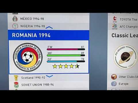 Classic teams v2 on pes 2019 (must watch) - смотреть онлайн на Hah Life
