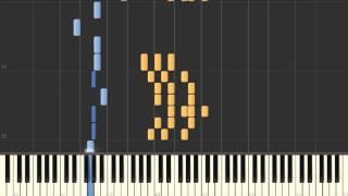 Betray my Heart (D'Angelo) - Synthesia piano tutorial