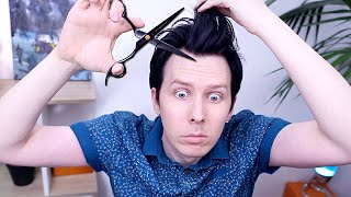 Trying To Cut My Own Hair