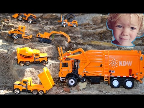 Garbage Truck Videos For Children l Unboxing and Pretend Play With Trash Truck l Garbage Trucks Rule