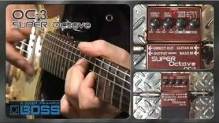 Boss OC-3 Super Octave Video