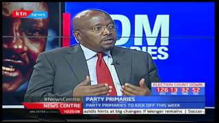 News Centre: Party primaries to kick off this week - 3rd April, 2017