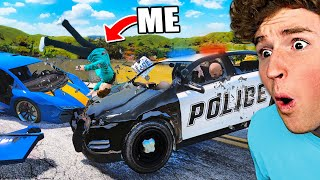 Can You SURVIVE The Hardest CAR CRASH Mod.. (GTA 5 Mods)