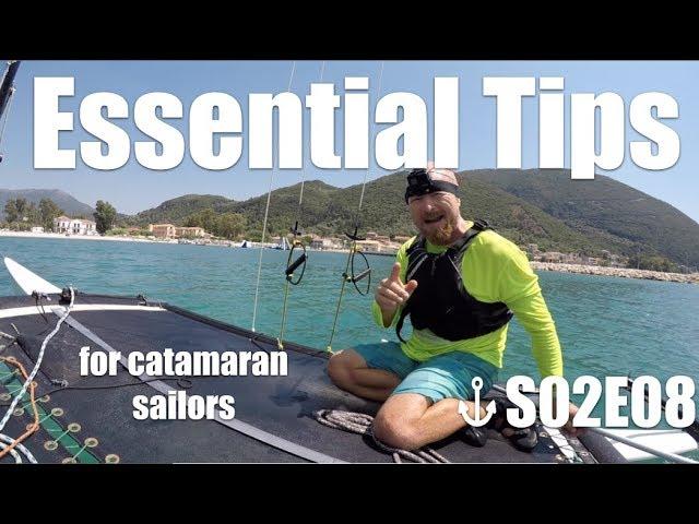 Quick Tips for Catamaran Sailors   S02 E08