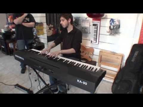 Kurzweil KA90 88-Key Digital Piano (Black)