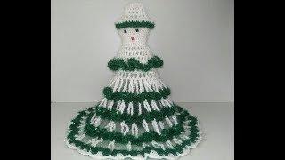DIY Crochet Doll Dress | Rukhwat Doll | Crochet Doll Dress New Design[हिंदी में]  [ 2018]