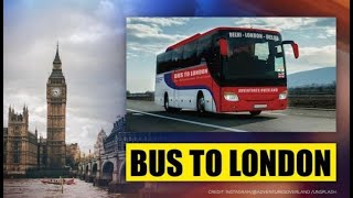 NEW DELHI TO LONDON BY BUS | THE LONGEST BUS JOURNEY IN THE WORLD  IMAGES, GIF, ANIMATED GIF, WALLPAPER, STICKER FOR WHATSAPP & FACEBOOK