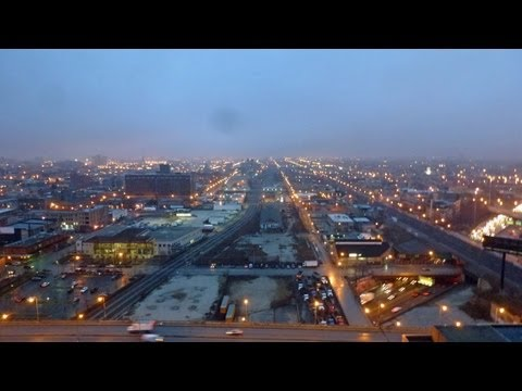 Marie Spear's view from the tower crane at K2