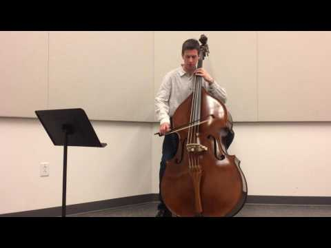 Mozart Symphony No.35 4th Movement (double bass excerpt)