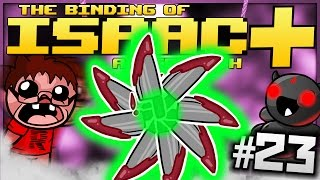 The Binding of Isaac: Afterbirth+: RADIOACTIVE KNIFE LASERS! (Episode 23 - Greedier)