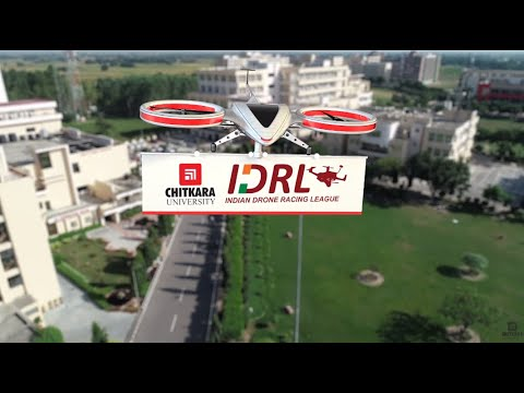 indian-drone-racing-league--chitkara-university