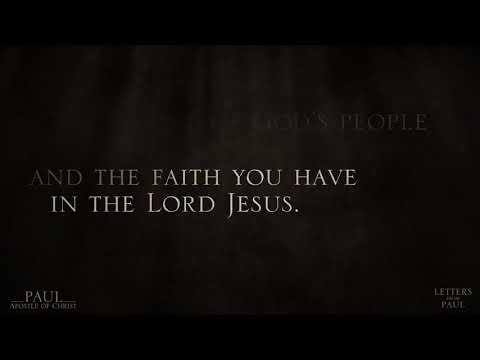 Paul, Apostle of Christ (Clip 'Letters from Paul 11: Philemon 1')