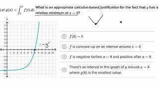 Interpreting behavior of _ from graph of _'=Ä | AP Calculus AB | Khan Academy