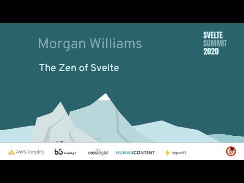 Image thumbnail for talk The Zen of Svelte