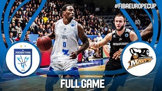 Z Mobile Prishtina (KOS) v Cherkaski Mavpy (UKR) - Full Game - Gameday 1 - FIBA Europe Cup 2018-19