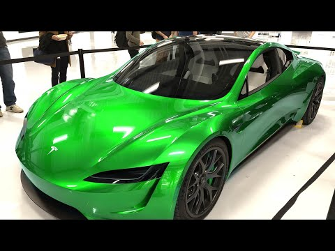 Brand New Tesla Roadster Various Colors 2019!