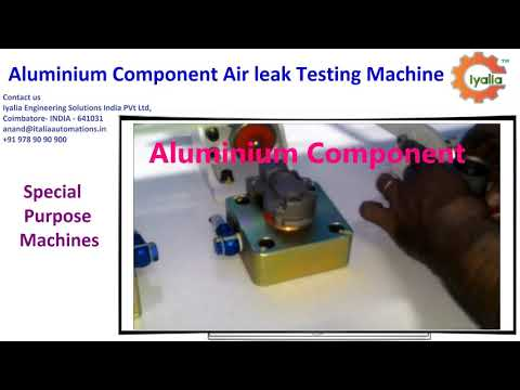 SPM Machine for Air Leak Testing Machine