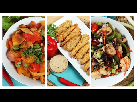 Video 3 Healthy Chicken Recipes | Dinner Made Easy