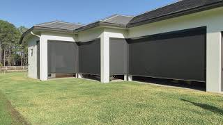 Motorized Insect - Solar Screens in Wellington Florida