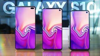 Обзор Samsung Galaxy S10 / S10 Plus / S10e 🔥 Как тебе такое Xiaomi Mi 9?