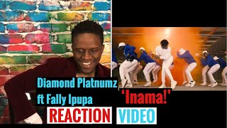 Diamond Platnumz Ft Fally Ipupa 'Inama' Reaction Video! | East And Central Africa Combine For A Gem!