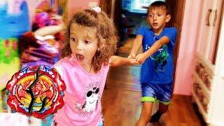 ПОЧЕМУ Тима стал ЖАДИНОЙ ? Маша СЛОМАЛА новый БЕЙБЛЕЙД ФЕНИКС  ! Видео для детей / video for kids