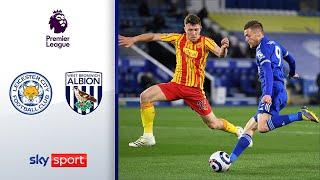 Foxes bleiben auf CL Kurs | Leicester City - West Bromwich Albion 3:0 | Highlights - Premier League