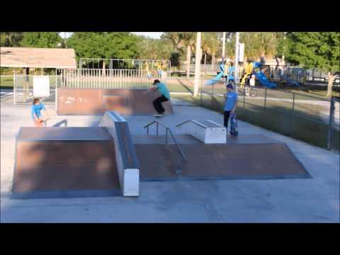 Stuart skateboarding montage