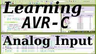 Learning AVR-C Episode 8: Analog Input