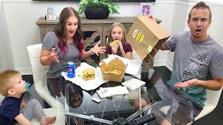 Jimmy Forgot My Burger!!! Trying Mr Beast Burger!