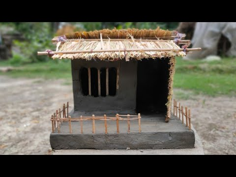 LET BE CREATIVE: Miniature Mud Hut!