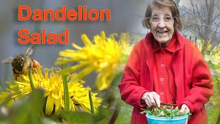 Great Depression Cooking - Dandelion Salad