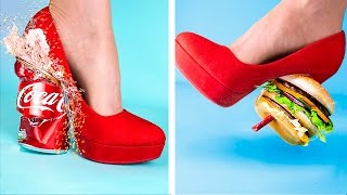 Crushing Crunchy And Soft Things By High Heels!/ High Heels Vs Boots