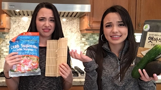 Sushi Challenge - Merrell Twins