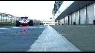 See the 2016 Mercedes F1 W07 hit the track for the first time!