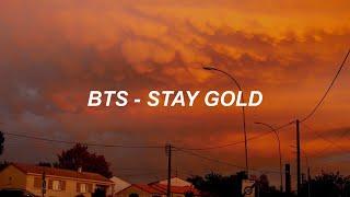 BTS (방탄소년단) 'Stay Gold' Easy Lyrics