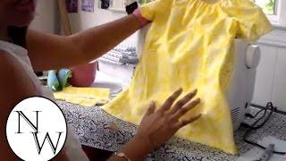 DIY: Peasant Top/Dress  Tutorial!