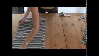 Смотреть онлайн Как сшить платье без выкройки своими руками