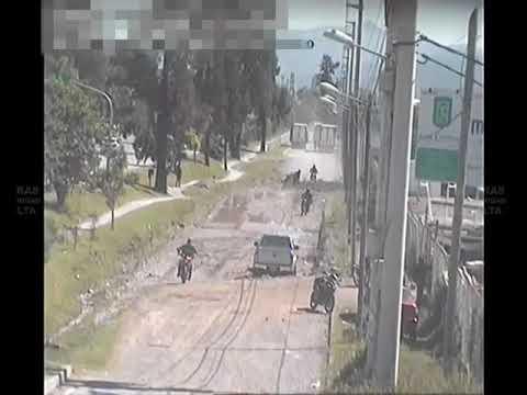Video: Mirá como la Policía persigue y atrapa a un motochorro
