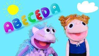 Abeceda pre deti - učíme sa s deťmi abecedu | Pesnička o abecede | Hanička a Murko
