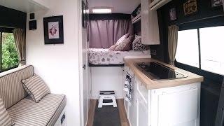 NEW & UPDATED VAN TOUR: Self build Citroen Relay Campervan Conversion Tour!