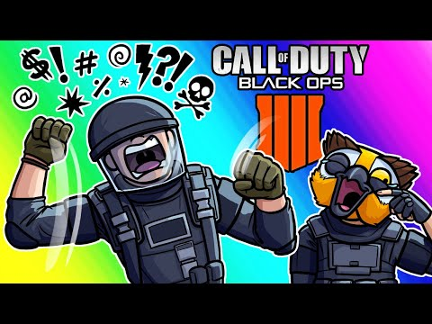 COD Black Ops 4 Battle Royale Funny Moments - The Angriest Kid EVER!