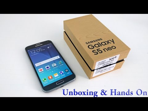 Samsung Galaxy S5 Neo UNBOXING & Hands-on