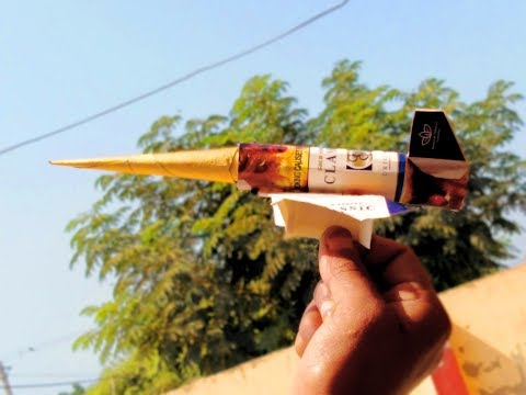 How to Make Jet Airplane with Cigarette box-Good idea