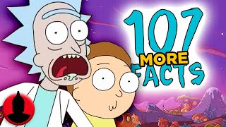107 MORE Rick and Morty Facts - (ToonedUp #160) | ChannelFrederator