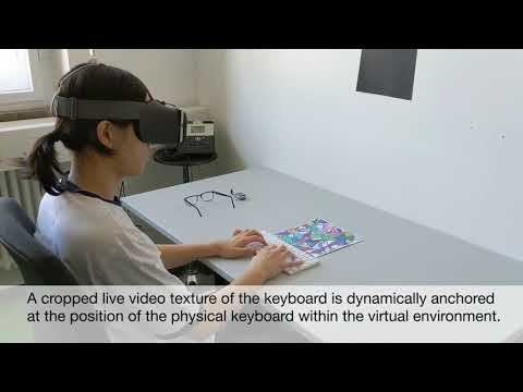Text Input in Portable Virtual Reality