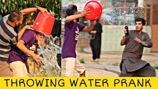 Throwing Water on Strangers with a Twist | Prank In Pakistan