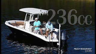 2019 Stingray Boats 236CC - Florida Sportsman Video