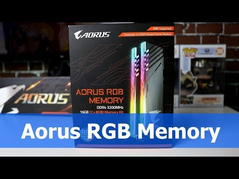 Aorus RGB Memory DDR4 3200mhz – Unboxing & Overview
